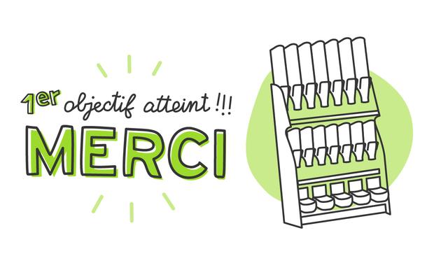 Project visual C'green L'épicerie Zéro Déchet