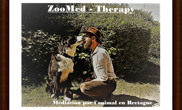 Visueel van project ZooMed-Therapy: Médiation animale