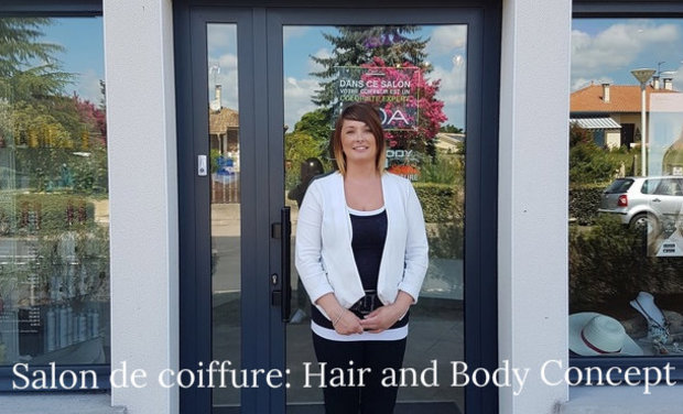 "Visueel van project Reprise du salon de coiffure ""Hair & Body Concept"" Pontonx sur Adour"