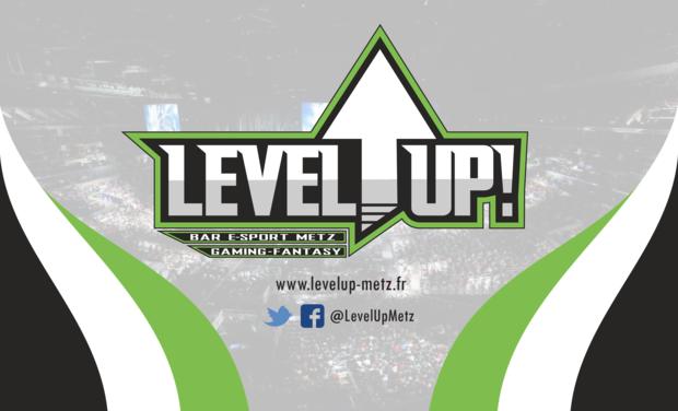 Visuel du projet Level Up ! - Bar E-Sport Metz
