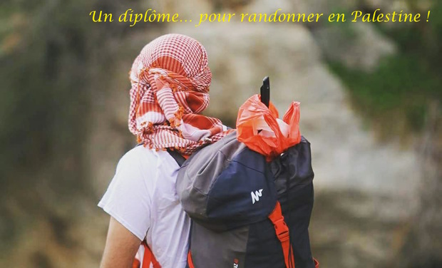 Visuel du projet Un diplôme pour randonner en Palestine !