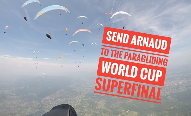 Project visual Arnaud at the  World cup paragliding Superfinal