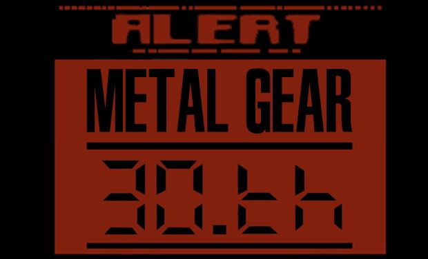 Project visual Metal Gear 30th Anniversary