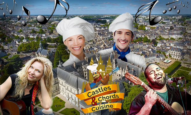 Project visual Castles, Chords & Cuisine