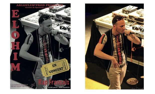 Project visual ALBUM ELOHIM RAP FRANCAIS