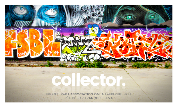 Project visual Le film Collector réalisé par François Jeevaranjan, produit par l'association OMJA
