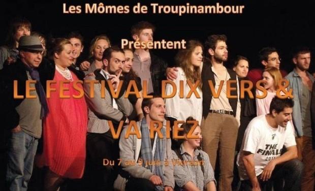 Project visual Festival Dix Vers & (va)Riez!
