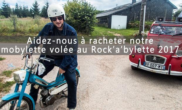 Visuel du projet Une nouvelle Mobylette pour le Rockabylette 2018 !