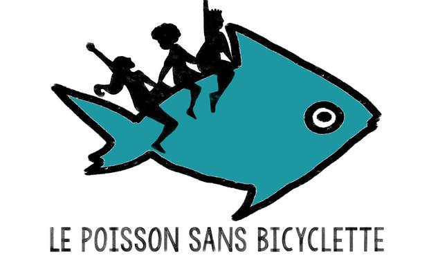 Project visual LE POISSON SANS BICYCLETTE, café féministe à Schaerbeek