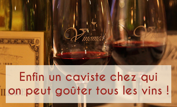 Visuel du projet Enfin un caviste où tous les vins sont gratuitement en dégustation!