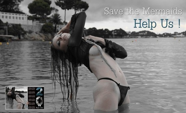 "Visueel van project ""Save the Mermaids"""