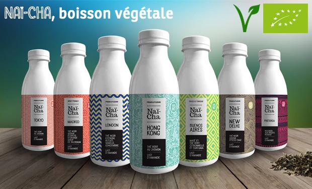 Project visual Naï-Cha, boisson végétale