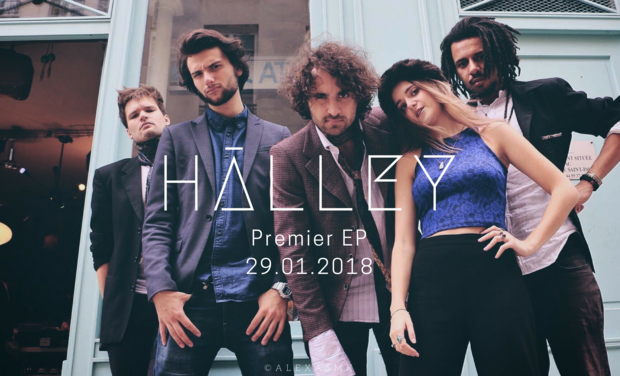 Visueel van project Hālley - Premier EP