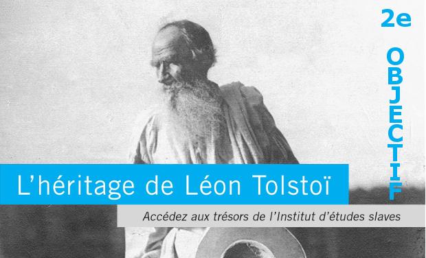 Visuel du projet L'héritage de Léon Tolstoï