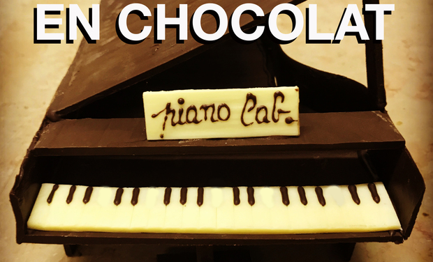 Project visual Le piano en chocolat