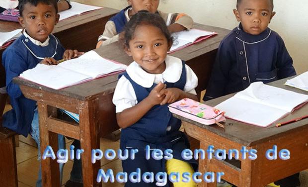 Visuel du projet Agir pour les enfants de Madagascar