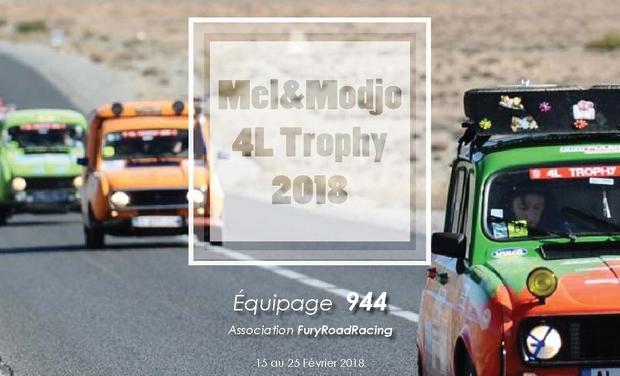 Visuel du projet Mel&Modjo #944 - 4L Trophy 2018