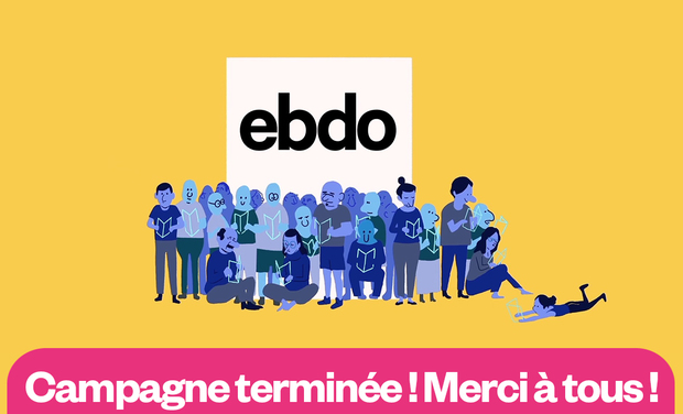 Project visual Ebdo : un journal indépendant et inspirant