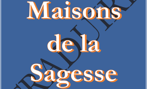 Project visual Maisons de la Sagesse Traduire