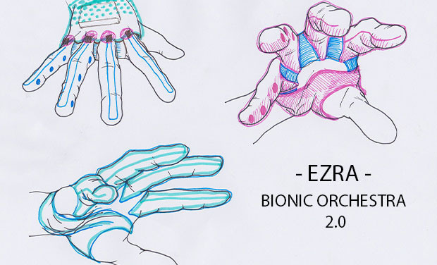Project visual EZRA - BIONIC ORCHESTRA 2.0