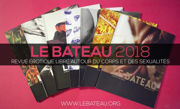 Visueel van project Le Bateau magazine 2018 !