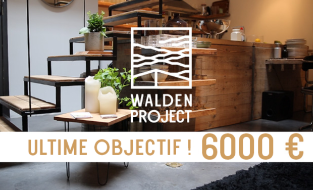Project visual WALDEN PROJECT : L'art de vivre durable au quotidien !