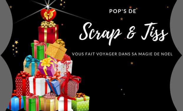 Visuel du projet Scrap & Tiss vous fait voyager dans sa magie de Noël