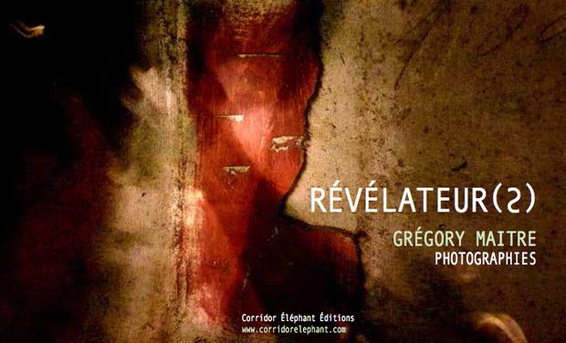 Visuel du projet RÉVÉLATEUR(S)- GRÉGORY MAITRE - CORRIDOR ELEPHANT EDITIONS