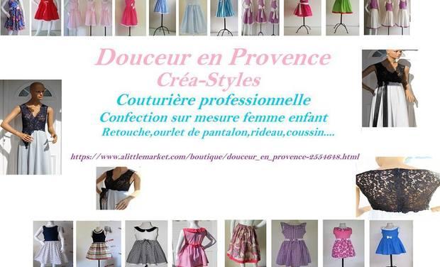 Visueel van project Boutique et atelier de couture sur mesure à Cavaillon