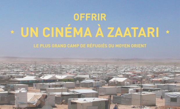 Un cinéma à Zaatari