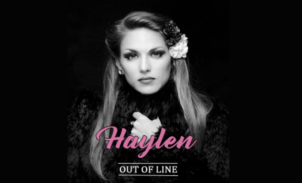 "Project visual Haylen nouvel EP ""Out Of Line"""