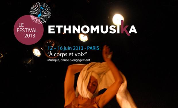 Visuel du projet Festival ethnomusiKa 'A Corps et Voix : musique, danse et engagement'