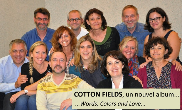 Project visual COTTON FIELDS : enregistrement de notre nouvel album