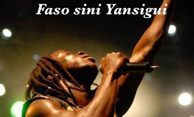 Project visual Faso sini Yansigui