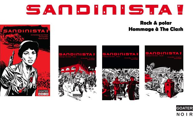 Visuel du projet Sandinista, un hommage à The Clash