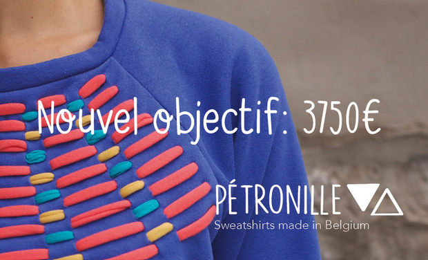 Project visual Sweatshirts Pétronille-Made in Belgium