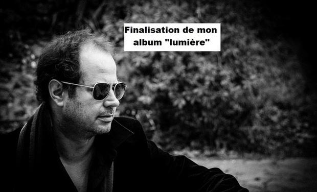 """Visuel du projet Finalisation de mon album """"lumière"""""""