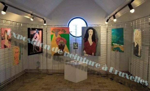 Visuel du projet exposition de peinture