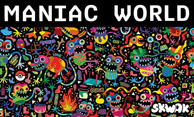 Visuel du projet SKWAK - Maniac World