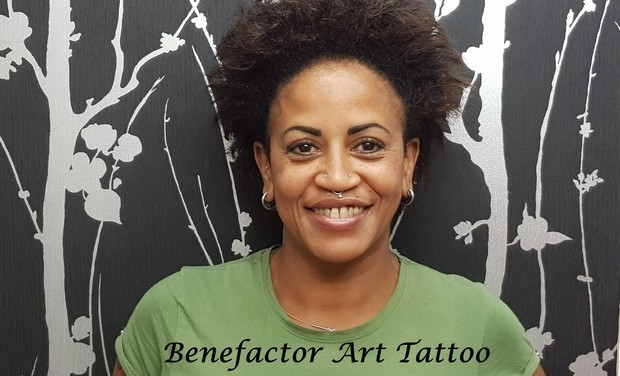 Project visual Benefactor Art Tattoo