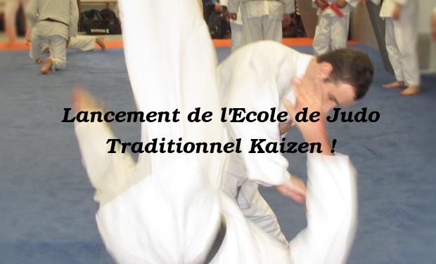 Visuel du projet Aidez nous à lancer l'Ecole de Judo Traditionnel Kaizen !