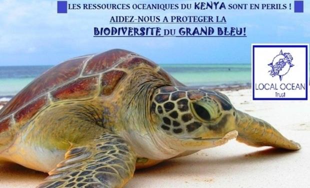 Project visual Protection des ressources océaniques du KENYA