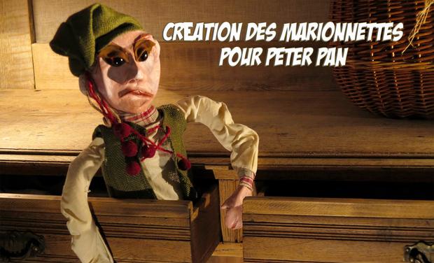 Project visual Création des marionnettes pour Peter Pan