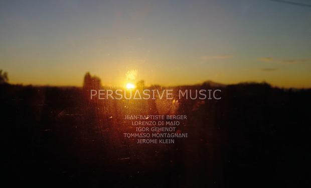 Visueel van project Persuasive Music