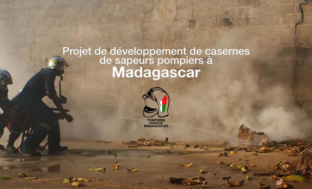 Visuel du projet Développement de casernes de sapeurs pompiers à Madagascar