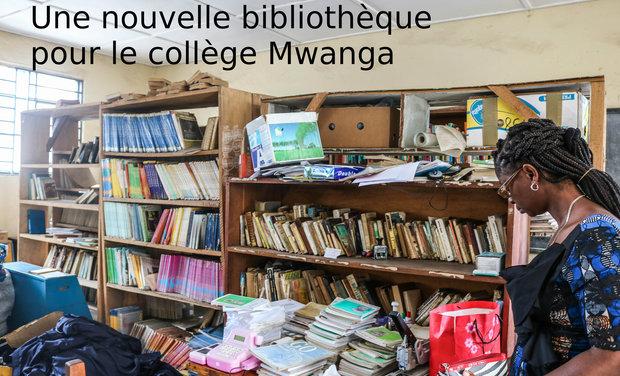 Project visual Une bibliothèque pour le collège Mwanga