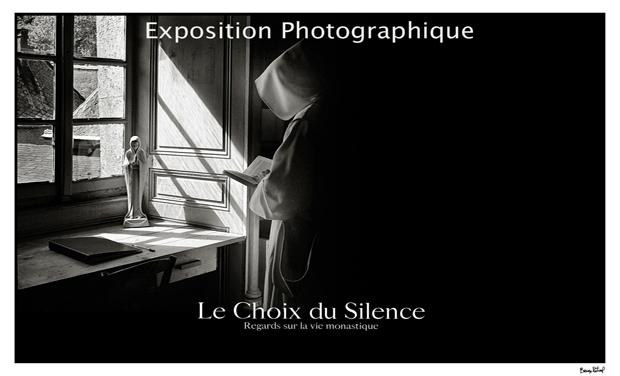 Visuel du projet EXPOSITION PHOTOGRAPHIQUE - Le Choix du Silence-Regards sur la vie monastique contemplative.