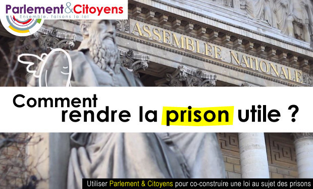 Project visual Prisons : faites la loi !