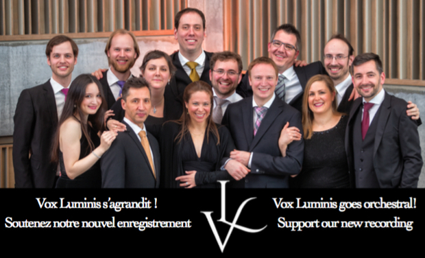 Project visual Vox Luminis s'agrandit