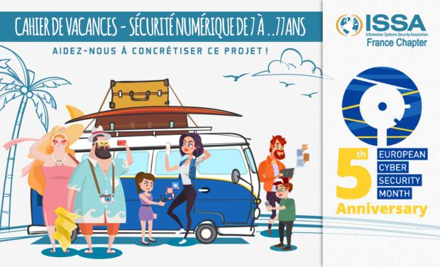 Visuel du projet Cahier de vacances - Sécurité Numérique De 7 à ... 77 ans